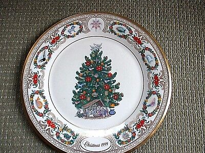 lenox annual christmas trees around the world plate Mexico 1999