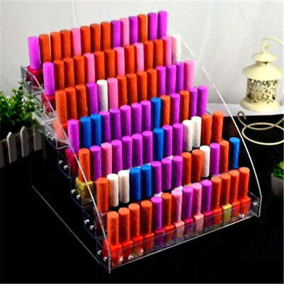 1 Pcs Multi-layer Holder Display Rack Acrylic Nail Polish Transparent Lipstick
