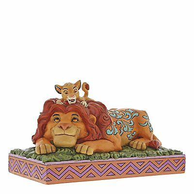 Jim Shore Disney Traditions Simba & Mufasa The Lion King 6000972 NEW Fathers Day