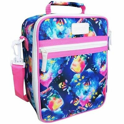 100% Genuine! SACHI Style 225 Insulated Junior Lunch Tote Cooler Bag Fireflys!