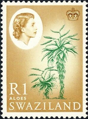 SWAZILAND - 1962 - SG104 1R Aloes - Mint*
