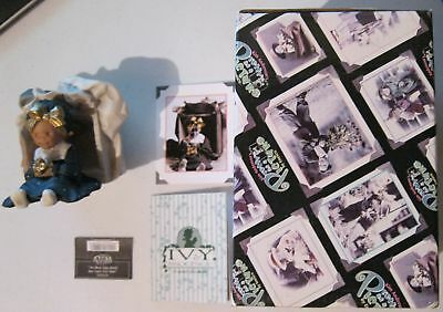 Pretty As A Picture Girl With Open Box  Figurine New!!