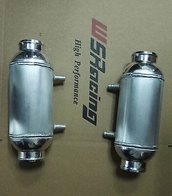 """turbo water to air cooler liquid to air barrel intercooler 5"""" x 8"""" for 4X4 Truck"""