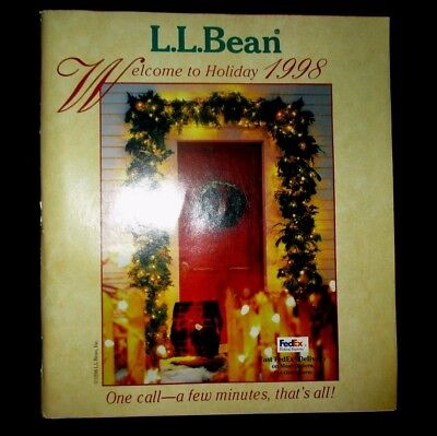 L.l. Bean - Holiday Christmas 1998 Catalog - 215 Pages