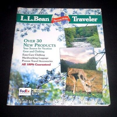 L.l. Bean - Traveler Spring 1998 Catalog Smoky Mountains - 79 Pages