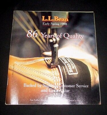 L.l. Bean - Early Spring 1998 Catalog 86 Years - 175 Pages