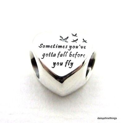 Nwt Authentic Pandora Silver Charm Heart Of Freedom  #791967