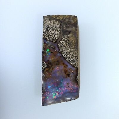 Australian Boulder Opal LAPIDARY ROUGH piece by Smart Opals