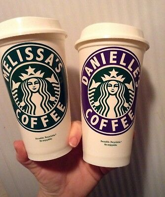 Personalized Starbucks Cup Reusable U Pick Color U Pick Name Gift Coffee Drink