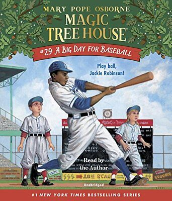 NEW A Big Day for Baseball (Magic Tree House (R)) by Mary Pope Osborne