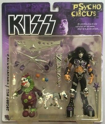 KISS Psycho Circus - Set Of 4 Figures - McFarlane Toys Gene Simmons Paul Stanley