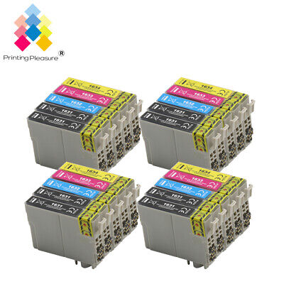 20 XL Ink Cartridges (Set + Bk) for Epson Workforce WF-2750DWF WF-2760DWF