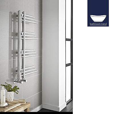 Designer Chrome Plated Bathroom Heated Towel Rail 900