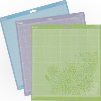 Cricut Cutting Mats Variety Pack Light Standard Strong 12 x 12