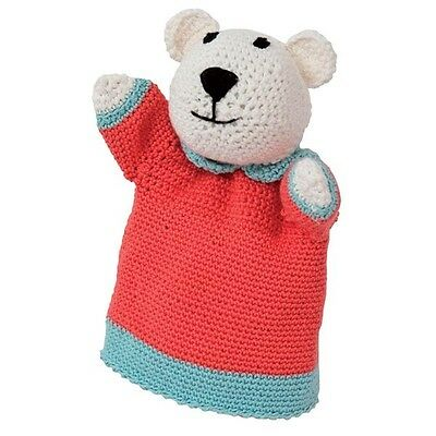 Rico Design Crochet Kit Mary Bear Glove Puppet contains Yarn, Hook & Pattern