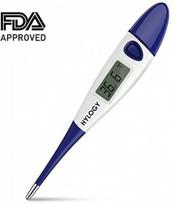 Hylogy Digital Medical Thermometer Electronic for Baby Infant Adult Rectal Oral