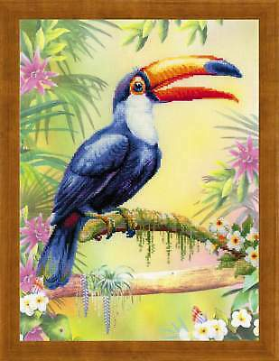 """Counted Cross Stitch Kit RIOLIS 0077 - """"Toucan"""""""