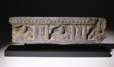 ANCIENT GANDHARA CARVED STONE  FRIEZE - 100 to 400 AD