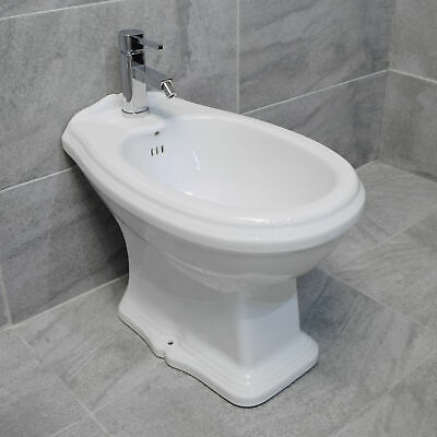 Green Hall Traditional Victorian Style Bidet Black or White Option + Tap
