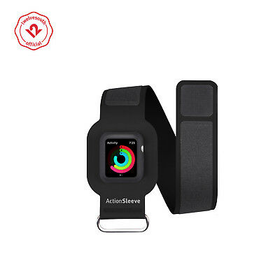 Twelve South ActionSleeve for Apple Watch, Slim Armband 42mm Apple Watch (black)