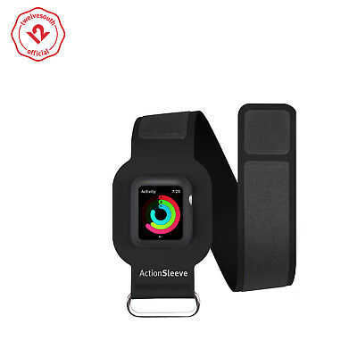 Twelve South ActionSleeve for Apple Watch | Armband for 42mm Apple Watch (black)