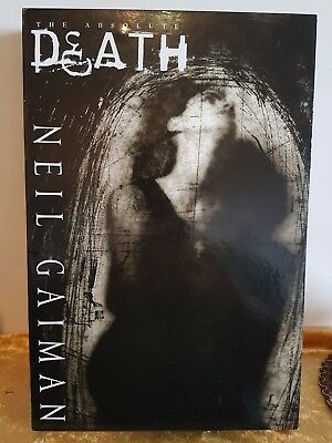 The Absolute Death hc slipcase Neil Gaiman