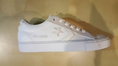 new arrival f0ef9 daecb Scarpe Lo Pelle Pro Sportive Converse Bianco Leather Vulc Do