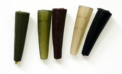 Tail Rubbers - Rig Sleeves, Rubber Cones, Buffers, Fit Carp Safety Lead Clips