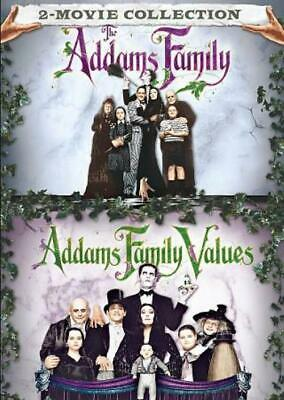 The Addams Family/Addams Family Values New Region 1 Dvd