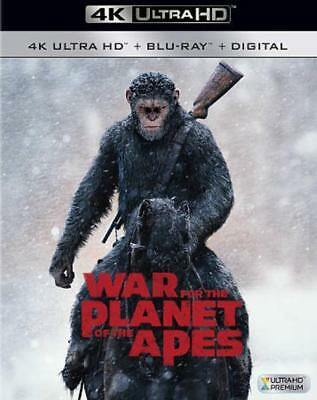 War For The Planet Of The Apes(Ultra Hd) New 4K Ultra Hd Blu-Ray