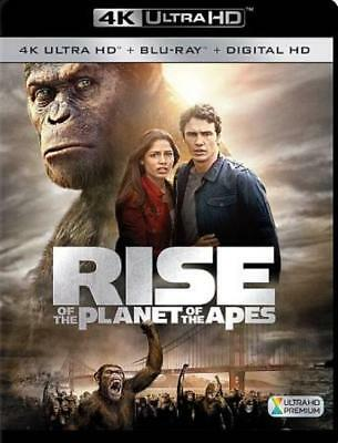 Rise Of The Planet Of The Apes(4K Ultra Hd/Blu-Ray Combo) New 4K Ultra Hd Blu-Ra