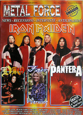 METAL FORCE 2 2000 Iron Maiden Pantera Dio Fair Warning Voivod Iron Fire LeFay