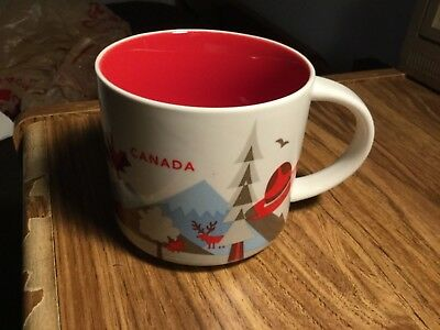 Tim Hortons- Canada- you are here - Used Coffee Mug - Nice- See Pics