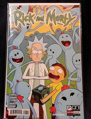 Rick and Morty Issue #26 Variant Print *We Combine Shipping*