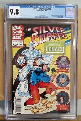 THE SILVER SURFER Annual #6 1993 Marvel 1st Appeance of Legacy! 9.8