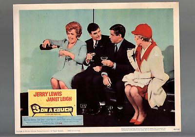 3 On A Couch-1966-Lobby Card-Vg/fn-Comedy-Jerry Lewis-Janet Leigh-James Vg/fn