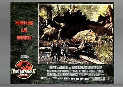 The Lost World Jurassic Park-1996-Lobby Card-Fn/vf-Sci Fi-Jeff Goldblum Fn/vf