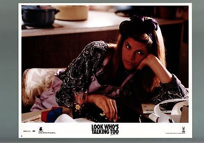 Look Who's Talking Too-1982-Vf-Lobby Card-Comedy-Kirstie Alley Vf