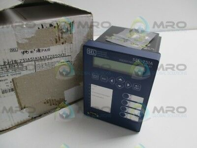 Sel Sel-751A 751A51A1A3A72850431 Feeder Protec. Relay (Repaired) * New In Box *