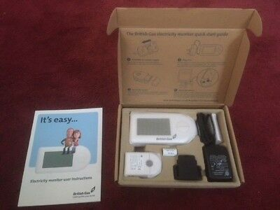British Gas Electricity monitor - new