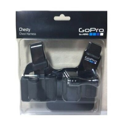 Genuine GoPro Chesty Chest Harness GCHM30-001 Accessory Mount Camera