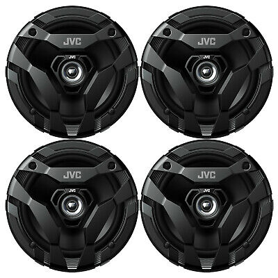 "4 X  Kenwood KFC-1665S 6.5"" 600 Watt 2-Way Car Audio Coaxial Speakers Stereo"