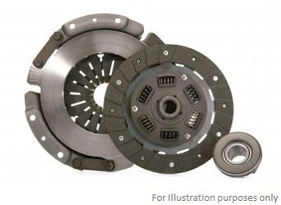 Clutch Kit 3pc (Cover+Plate+Releaser) fits NISSAN CABSTAR TL0 3.0D 00 to 04 B&B