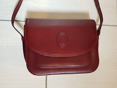 Must De Cartier Paris, Borsa Donna Bordeaux Women's Bag