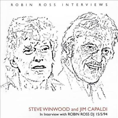 Jim Capaldi/steve Winwood - In Interview With Robin Ross Dj 15/5/94 * New Cd