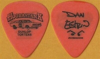 Hoobastank Dan Estrin authentic Dukes of Hazzard 2003 tour signature Guitar Pick