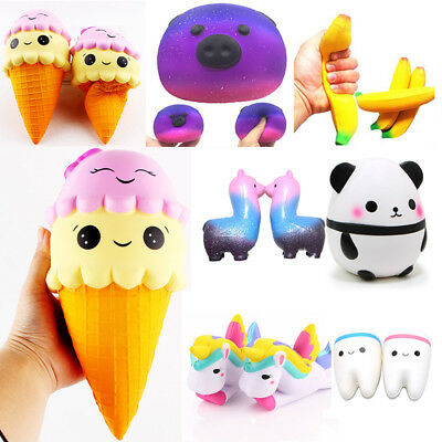 Jumbo Slow Rising Squishies Scented Charms Kawaii Squishy Squeeze Toy Kid Gift