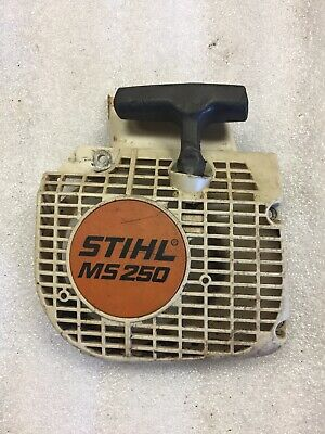 GENUINE STIHL ms250 ms210 ms230 021 025 recoil pull start 1123 080 2104 NEW OEM