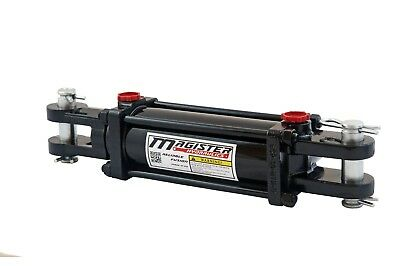 """Hydraulic Cylinder Tie Rod Double Action 4"""" Bore 10"""" Stroke 2500 PSI 4x10 NEW"""