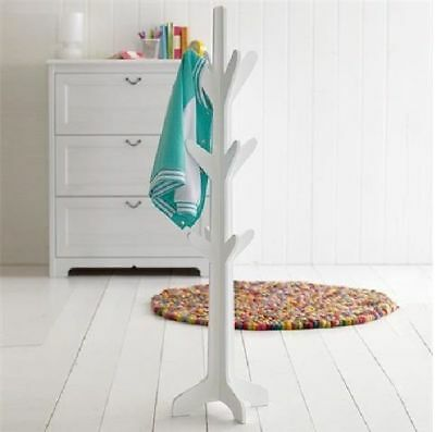 Kids White Tree Hat Coat Stand Rack Hall Stand Children Bedroom Home 120 Cm